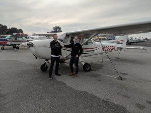 first solo, flight training, cessna, ca