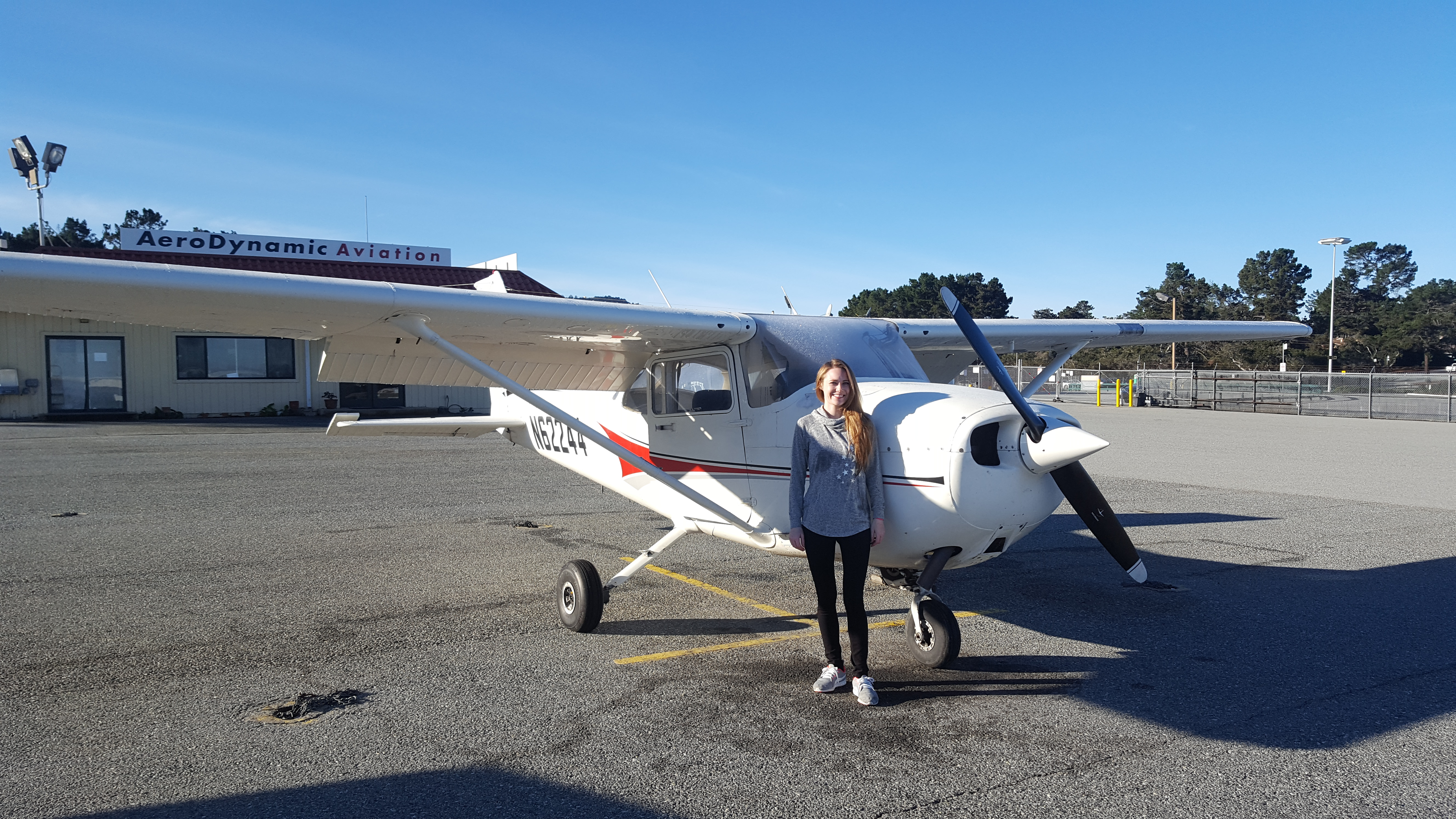 Cessna, Monterey, flight training