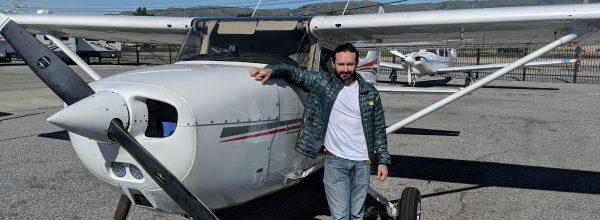 First Solo Flight – Erik Castellanos
