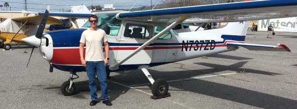 First Solo Flight – Robert Curtis