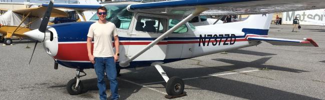 Cessna, solo, flight