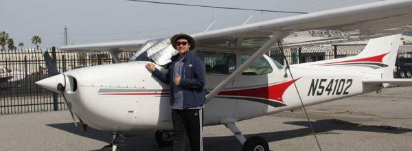 First Solo Flight – Henry Jessel