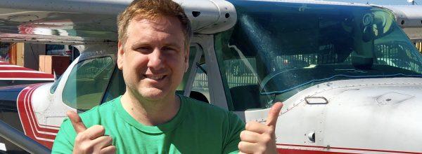 New Private Pilot – Nicolas De Rico