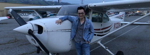 First Solo Flight – Yongzhen Qiu