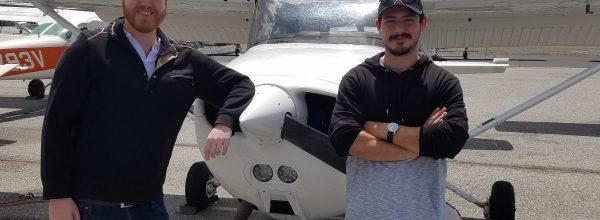 First Solo Flight – Ivan Zarate