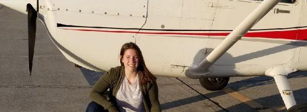 New Private Pilot – Nicole Herbig