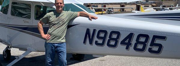 First Solo Flight – Joe Streeper
