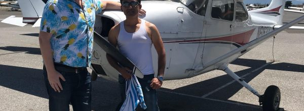 First Solo Flight – Sean Batac