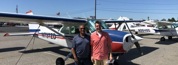New Private Pilot – Robert Curtis