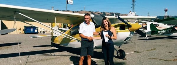 New Private Pilot – Ryann Powell