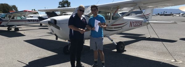 New Private Pilot – Jacob Tarango