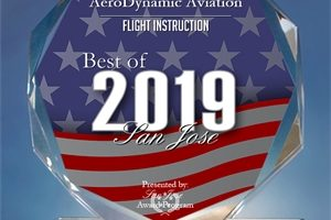 flight school, award, san jose