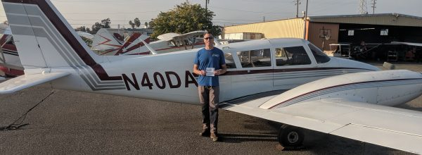 New Multi-Engine Pilot – Mike Grachek