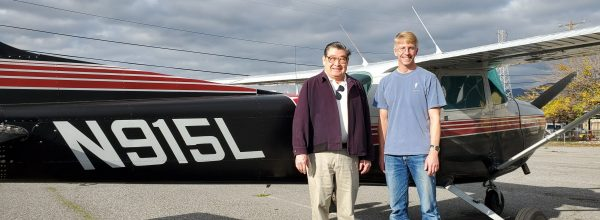 New Commercial Pilot – Rick Vander Kam