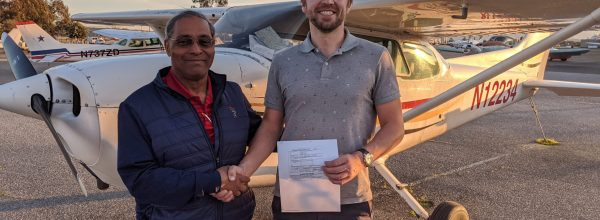 New Private Pilot – Daniil Burmashev