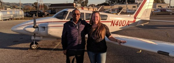 New Multi-Engine Instructor – Lynzie Hudson