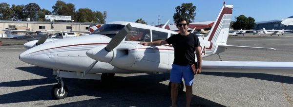 New Multi-Engine Pilot – Claudio Basile