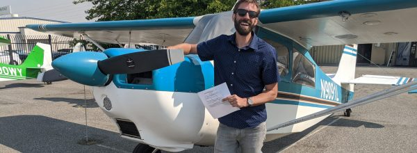 New Private Pilot – Brian Kuhl