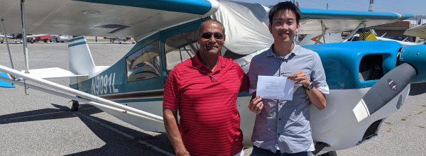 New Private Pilot – Edgar Xiong