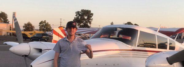 New Multi-Engine Pilot – Mitchell Templeton