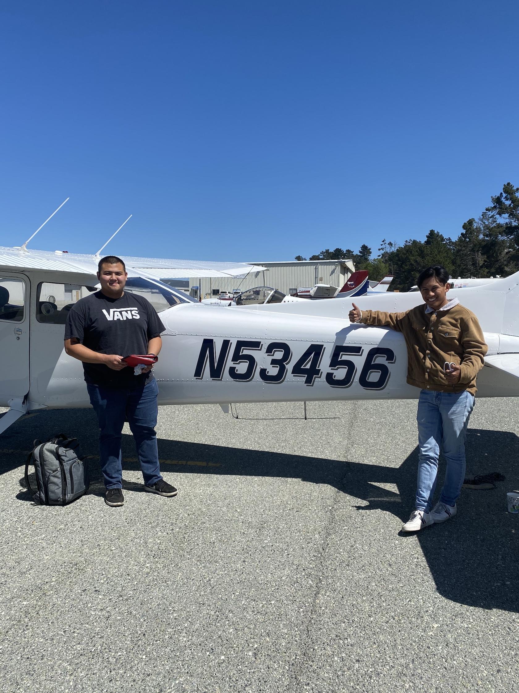 First Solo Flight – Rhandy Soto