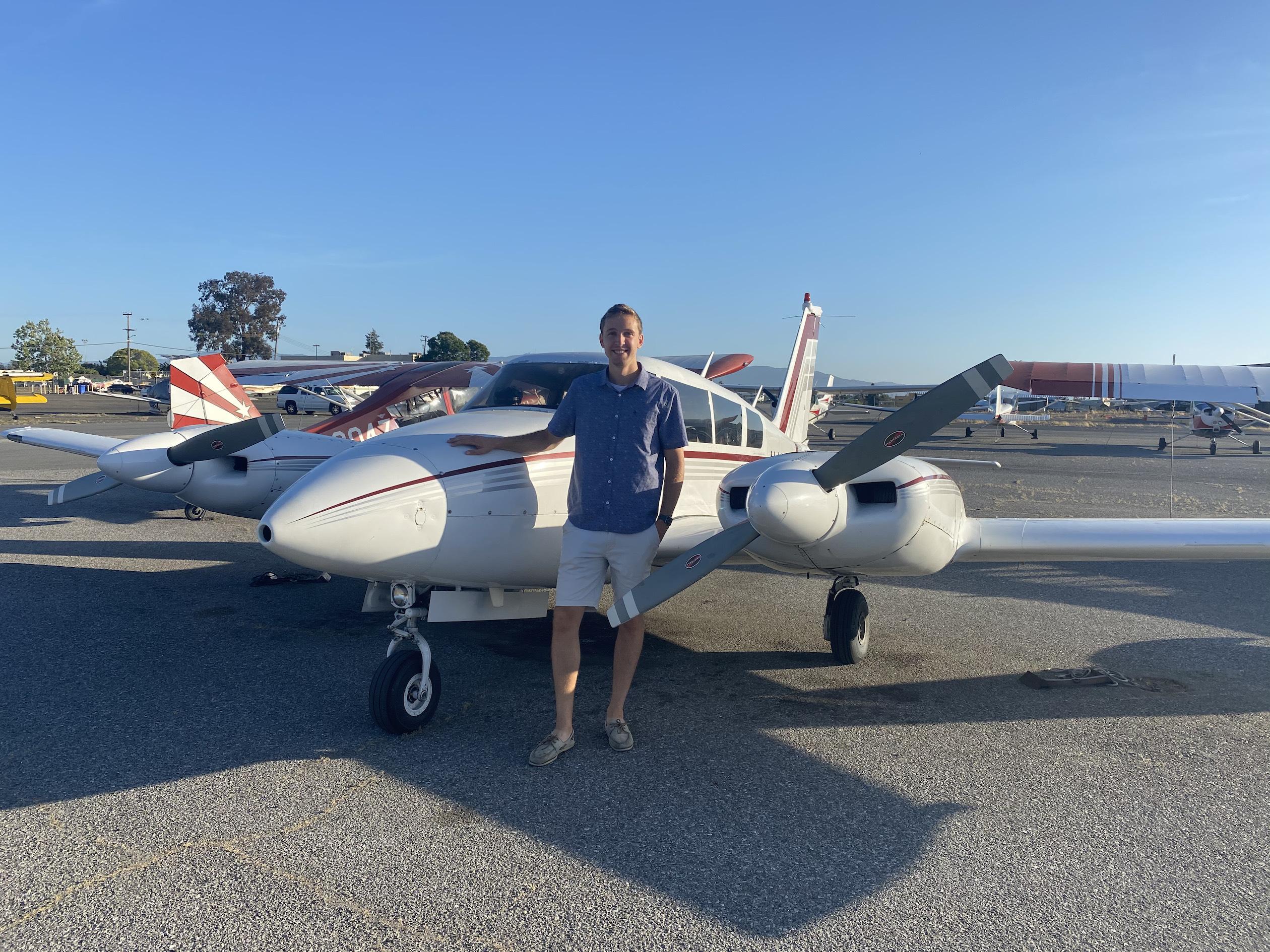 New Multi-Engine Pilot – Daniel Sims