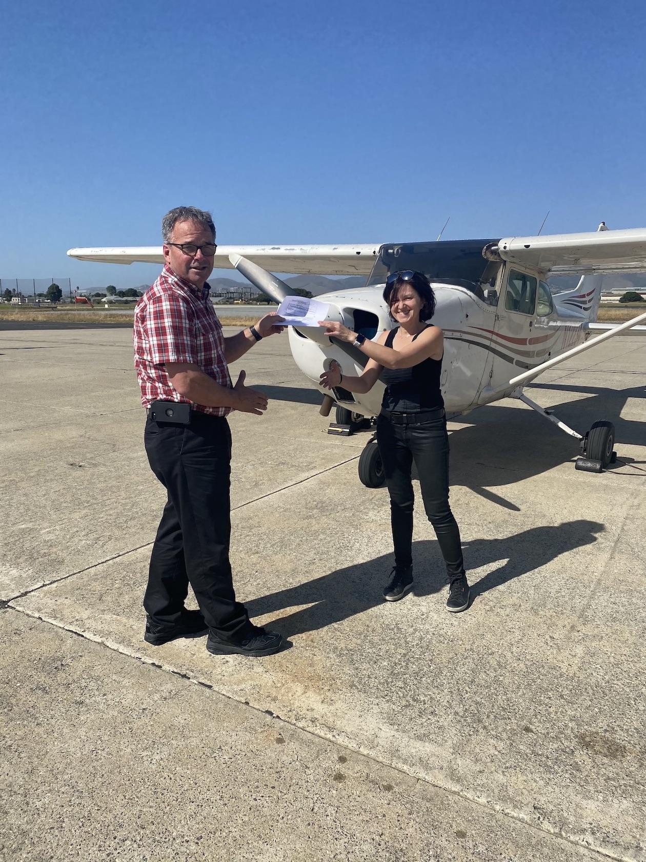 New Private Pilot – Mihaela Popescu-Stanesti