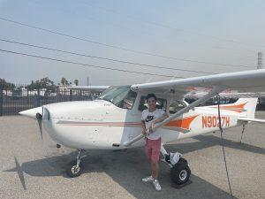 pilot, solo, N9027H