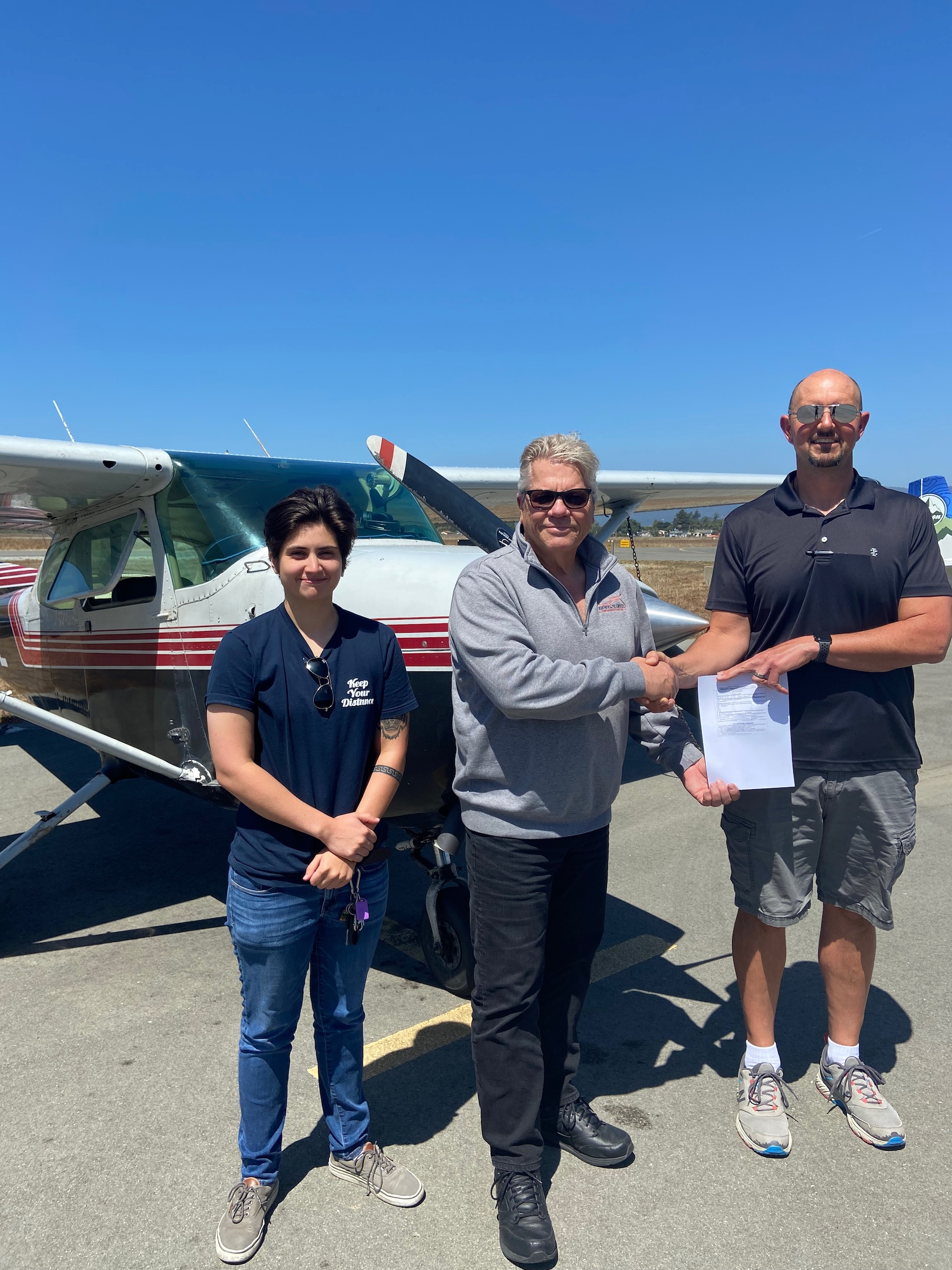 New Private Pilot – Kevin Healy