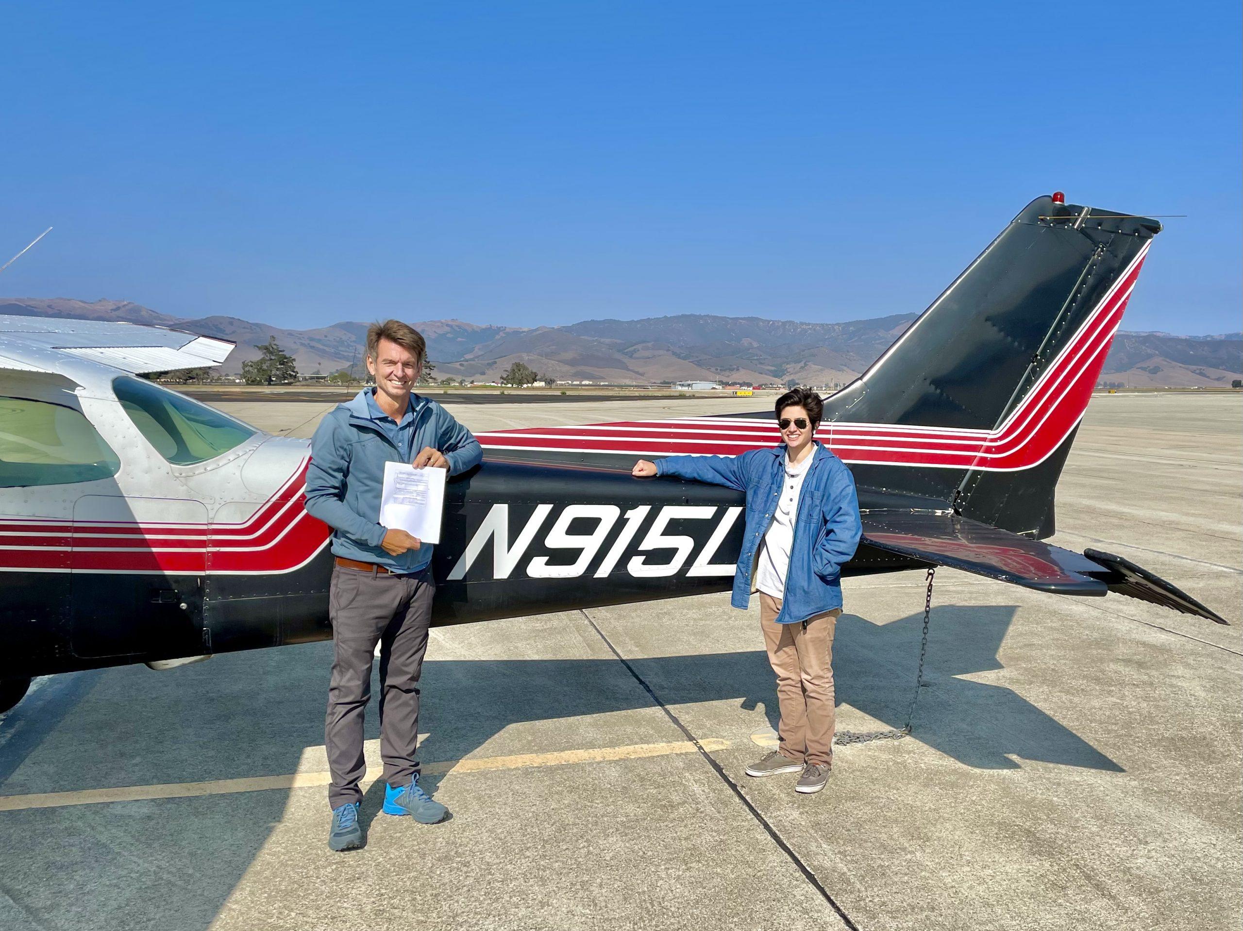 New Private Pilot – Sandor Nagy