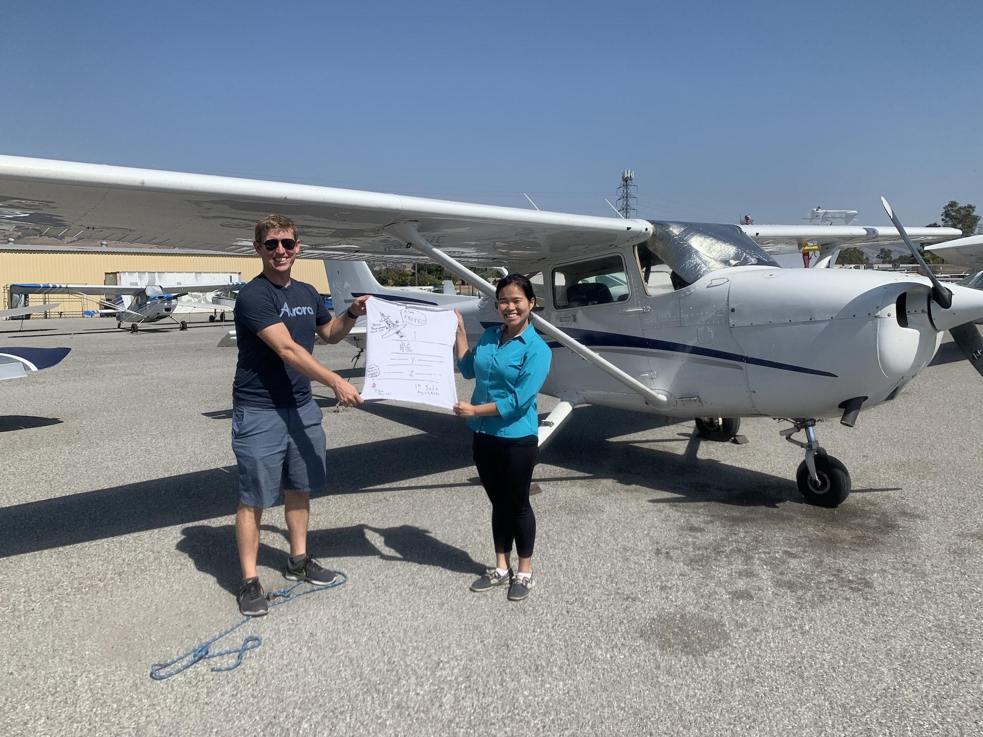 First Solo Flight – Brian Baumgartner