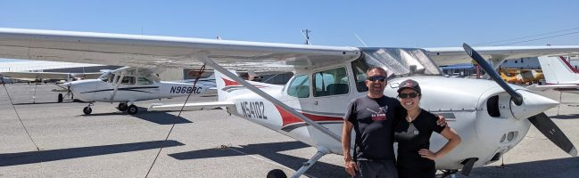 commercial pilot, KRHV